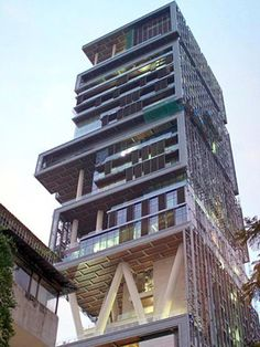 The World's Most Expensive House, if you call this a house that is - located in India,