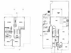 Navy Region Hawaii – Kamehameha Loop Neighborhood: 4 bedroom home floor plan.