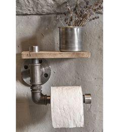 Pronken met een Interior Junkie proof wc rolhouder