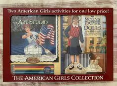 American Girl Molly~Molly/'s Art Studio~RETIRED~NEW
