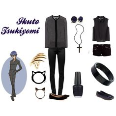 """Ikuto Tsukiyomi"" by casualanime on Polyvore"