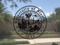 "University of Florida ""Albert and Alberta"" 7.1oz米綿丸胴オールドプリントクルーネックポケットT / Audience - 【 Audience 】"