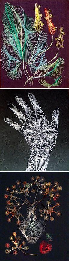 Волшебная изонить (много схем, шаблонов) | СДЕЛАЙ САМ!