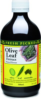 Olive leaf extract...supposed to be like natures antibiotic and good for colds. This is the one I use