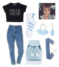 """""""Cafe"""" by giuliaaq on Polyvore featuring Wrangler, adidas, Sugar Thrillz and Taolei"""