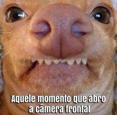 Selfie surpresa.. .kkk k
