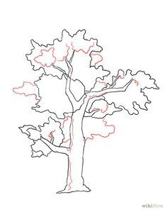Kids Bedroom Drawing leafless tree drawings | dinglefoot's scrapbooking - art