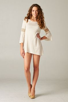 Lace Inset Tunic – Urban Dollhouse Boutique