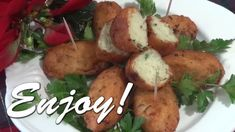 Pasteis de Bacalhau - Bolinhos de Bacalahu - Salt Codfish Croquettes video recipe from Tia Maria's Blog