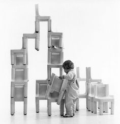 Kartell, K 1340 Children's Chair by Richard Sapper and Marco Zanuso
