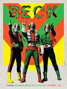 Beck Columbia Kii Arens Poster