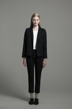 Stella Blazer, Cousin Tee and Elliot Trousers | Samuji FW14 Classic Collection