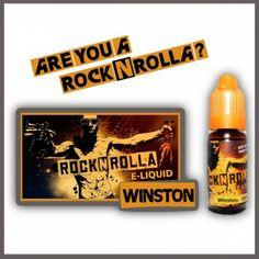 ROCKNROLLA Winston 10ml. Find out more in www.nexxton-ecig.com Rock N, Vape, Pall Mall, Usa, Cigar, Drum, Virginia, Prince, Spirit
