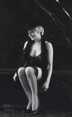 Marilyn Monroe (Black sitting) Photographed by Milton Greene, 1956.