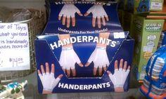 my Handerpants on pinterest... love!