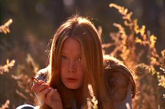 I ran across this photo and it made me think Maia kind of looks like Sissy Spacek