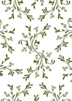 pattern design inspired by typical meadow botany