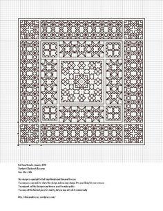 starburst-blackwork-biscornu