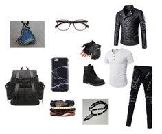 """Untitled #1"" by justinevas ❤ liked on Polyvore featuring FingerPrint Jewellry, Lazuli and Timberland"