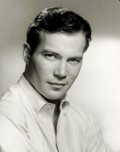William Shatner.  Hehehe.  Many people consider Shatner in his early years to be a ham, but there's no denying the vintage appeal here... ~Heather