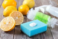If your kitchen is a certifiable disaster zone, this easy DIY citrus kitchen cleaner will make the whole room feel like summer. Oven Cleaning, Toilet Cleaning, Cleaning Hacks, Cleaning Recipes, Cleaning Supplies, Homemade Cleaning Products, Natural Cleaning Products, Household Cleaners, Diy Cleaners