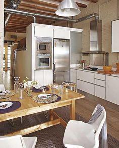 Smart Urban Loft Design for Small Apartment Mini Loft, Small Apartment Design, Small Apartments, Small Spaces, Smart Design, Clever Design, Modern Design, Loft Design, House Design