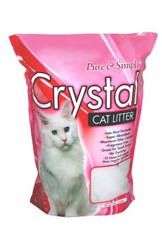 Pure & Simple Crystal Cat Litter | Pure & Simple Crystal Cat Litter #litterbox - Care for cat at Catsincare.com!