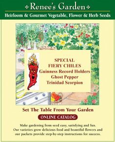 Renee S Garden Northern California Heirloom Seed Company Certified Gmo Free Located In Felton