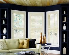 Don't clean your blinds; Replace them. Cleaning is not the solution to your problem!