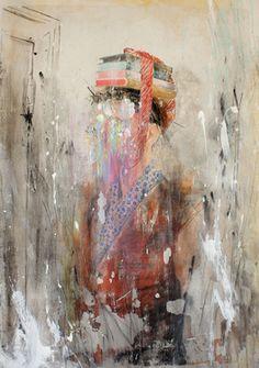 "Saatchi Online Artist andre azevedo; Painting, ""hannah"" #art"