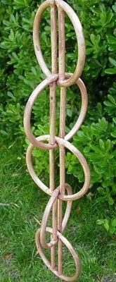 Zen Loops Rain Chain Nice