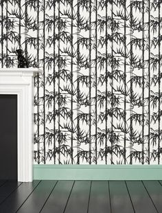 Work your woodwork - bambo wallpaper