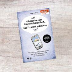 Buch 'Günther hat sein Käsebrot fotografiert' jetzt im Geschenke.de kaufen! humorvolles Buch mit Ode an die analoge Welt Softcover 176...