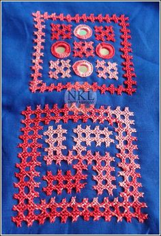 Kutch Work, Thread Work, Facebook Sign Up, Hand Embroidery, Quilts, Sewing, Youtube, Instagram, Comforters