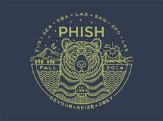 Brian Steely is a designer from Atlanta with a unique style of logo design. Brian has great skills to create precise line art mixed with typography to build these great logos. Phish, Chalk Lettering, Lettering Design, Line Illustration, Graphic Design Illustration, Art Illustrations, Typographie Logo, Badge Logo, Cool Logo