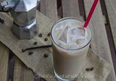 Caffè ghiacciato vaniglia e cioccolato