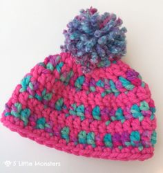 5 Little Monsters is craft blog where you will find crochet, sewing, embroidery projects and more including free patterns and tutorials.
