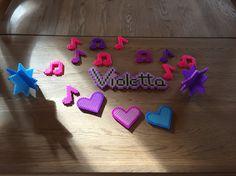 Violetta bordpynt/perler
