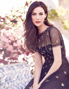 Liv Tyler at a photo shoot for the July issue of the magazine «Red». Taken in April 2014. Photo by: Matthew Brookes