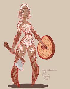 Character Design - Bark by MeoMai