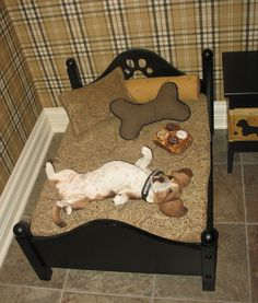 A Fine Room for Fido: It& a Dog& Life at Homearama Le Chihuahua, Dog Bedroom, Puppy Room, Dog Spaces, Dog Area, Diy Dog Bed, Dog Furniture, Animal Room, Dog Rooms