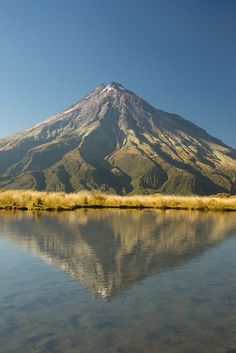 Mt. Taranaki, Taranaki, New Zealand.  Need to go here with a friend of mine. We would both be in heaven :P