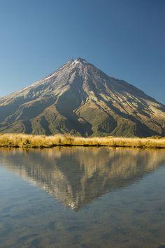 Mt. Taranaki, Taranaki, New Zealand.  Need to go here with a friend of mine. We would both be in heaven :P