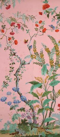 zuber 39 s decor chinois wallpaper interiors pinterest tapeten w nde und bilder. Black Bedroom Furniture Sets. Home Design Ideas