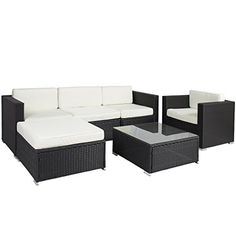 Best ChoiceProducts 6 Piece Outdoor Patio Garden Furniture Wicker Rattan Sofa Set Sectional    http://www.stupidprices.com/shop/furniture/best-choiceproducts-6-piece-outdoor-patio-garden-furniture-wicker-rattan-sofa-set-sectional/    [gallery]  Best Choice Products is proud to present you this beautiful 6 piece wicker sofa furniture set. The sofa is an ideal addition to your outside living area. It is made of weather-resin wicker that adds a beautiful touch to the table and chairs. The…