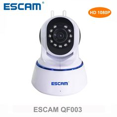 Escam QF003 HD 1080P Wireless IP Camera Day Night Vision P2P WIFI Indoor Infrared Security Surveillance CCTV Mini Dome Camera