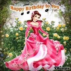Happy Birthday to You Animated Happy Birthday Wishes, Happy Birthday Wishes Photos, Birthday Wishes For Kids, Happy Birthday Wishes Images, Cute Happy Birthday, Happy Birthday Flower, Birthday Wishes Cards, Birthday Songs, Happy Birthday Greetings