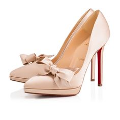 Miss Pigalle 120 Nu Crepe satin Satin Lurex - Women Shoes - Christian  Louboutin dd2bc32ccac1f