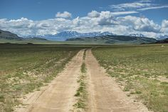 The road to nowhere: dirt track to the Altai. Image by David Baxendale / Lonely Planet