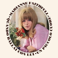 "Marianne Faithfull Quando Ballai Con Lui (Italian 7"" 1965)"